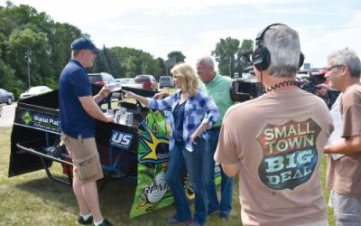 Small Town Big Deal visits car show for future episode