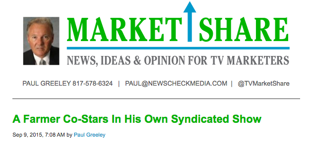 """Small Town Big Deal"" Featured in NewsCheck Media's MarketShare Column"